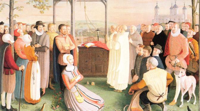 Ushaw Lecture: Catholic Martyrdom