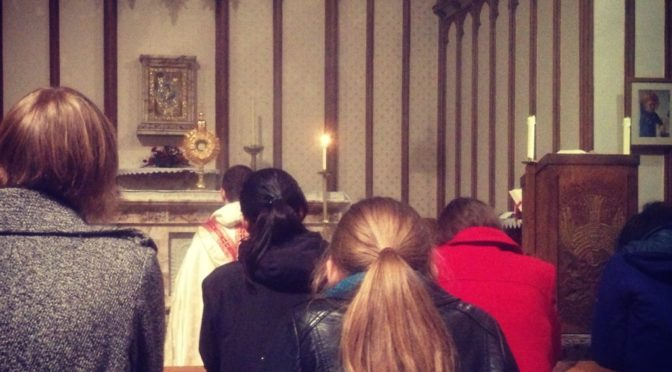 Last Holy Half Hour and mid-week Sung Mass