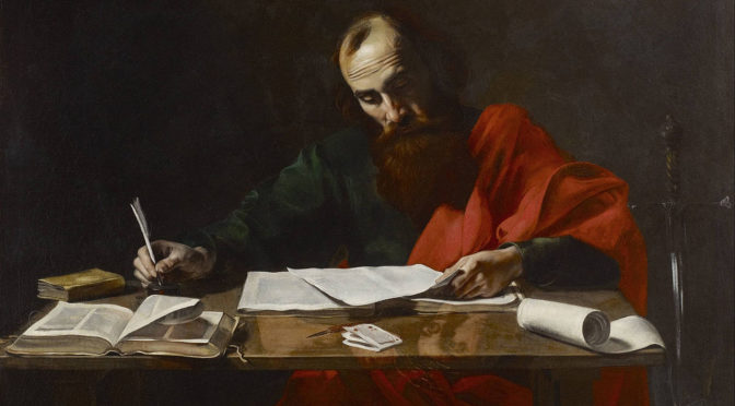 1280px-Probably_Valentin_de_Boulogne_-_Saint_Paul_Writing_His_Epistles_-_Google_Art_Project