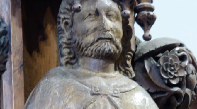 Medieval statues