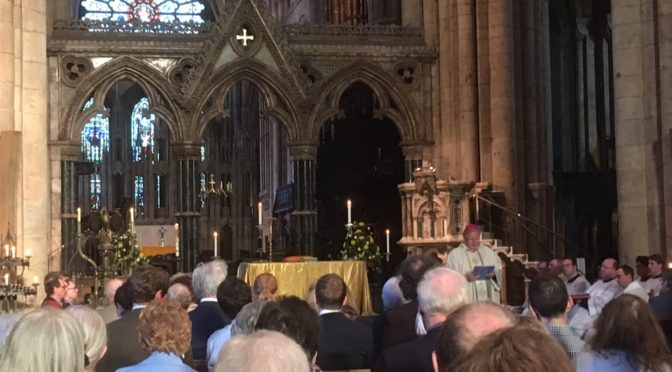 CCS Mass in Durham Cathedral