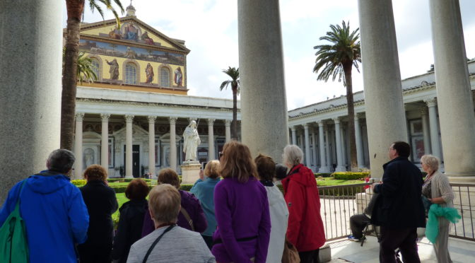 Photos and memories from the pilgrimage to Rome