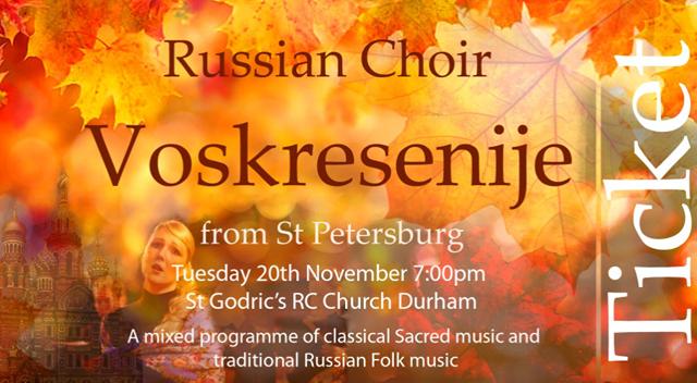 The Voskresenije-Resurrection Choir of St. Petersburg