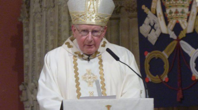 A Message from Bishop Seamus