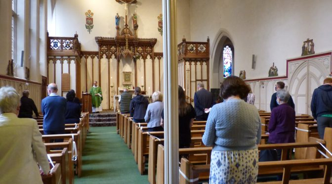 Mass and Private Prayer at St. Cuthbert's