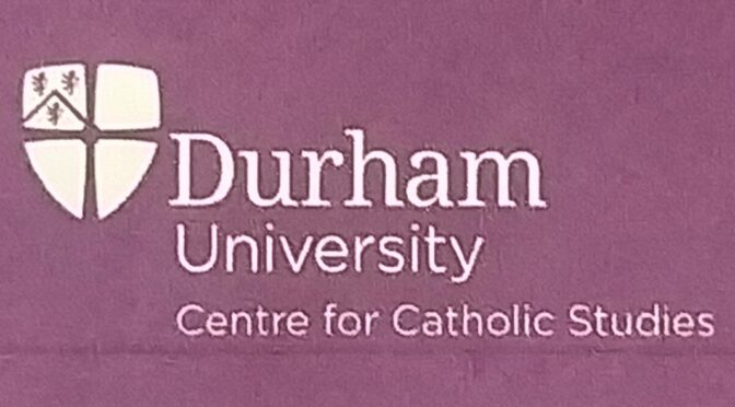 Centre for Catholic Studies